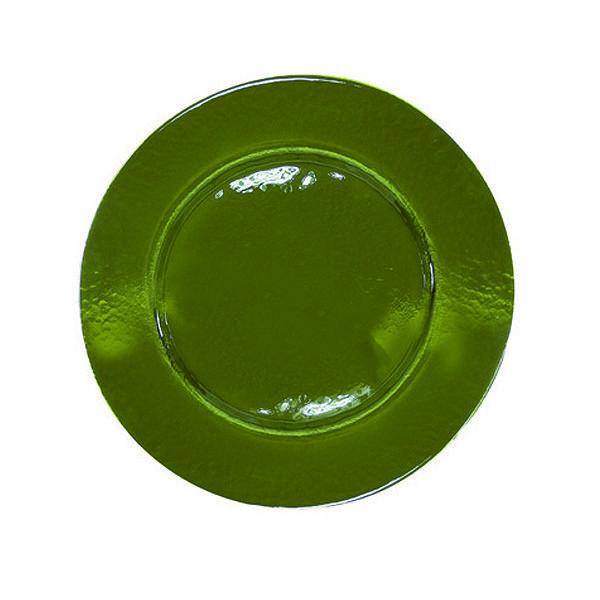 Plato Cristal Verde
