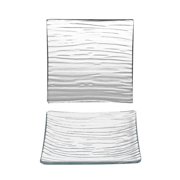 Plato Cristal 11x11cm